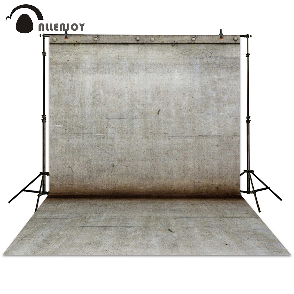Allenjoy photography backdrop brick wall ground grey backgrounds newborn photocall photographic photo studio