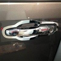 8PCS Door Handel Bowl Fit For Dodge 2013 Journey Car Accessories Quality ABS Chrome Exterior Decoration