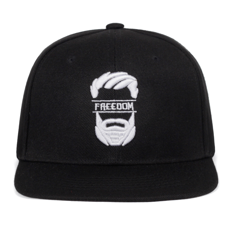 2019 New Original Snapback Cap Men Flat Brim Bone Baseball Caps Embroidery Mustache Mens Hat Youth Street Ware Cool Hip Hop Cap