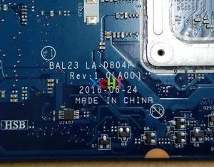 Image 5 - עבור Dell 15 5565 D8YN1 0D8YN1 CN 0D8YN1 BAL23 LA D804P E2 9000 216 0890010 מחשב נייד האם Mainboard נבדק