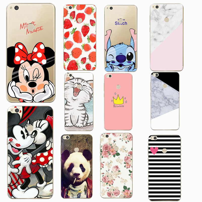 For <font><b>Huawei</b></font> P9 lite mini <font><b>Case</b></font> Cover Soft TPU Phone <font><b>Cases</b></font> Coque For <font><b>Huawei</b></font> <font><b>Y6</b></font> Pro <font><b>Y6</b></font> Y5 Y3 P8 Lite <font><b>2017</b></font> P9 P20 Lite <font><b>Silicon</b></font> <font><b>Case</b></font> image