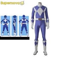 Tricera Ranger Cosplay Costume ZYURANGER Dan Costume Cosplay Rangers Uniform Power Tricera Ranger Dan Bodysuit Halloween