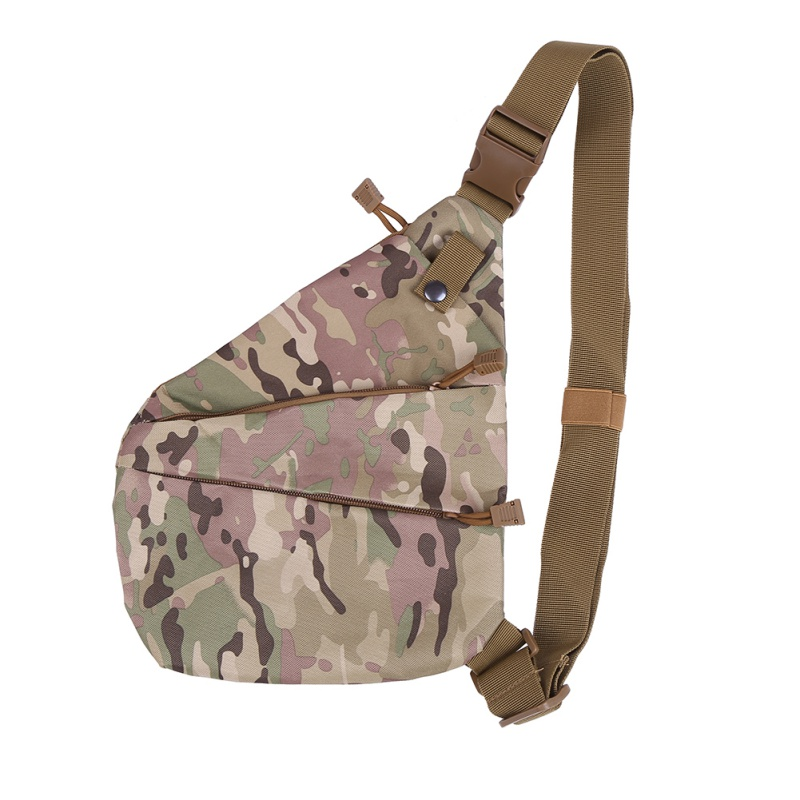 6063d8b346 Compact Single Shoulder Bags For Men Waterproof Nylon Crossbody Bags Male  Messenger Bag Right   Left Direction For Outdoor Sport-in Climbing Bags  from ...