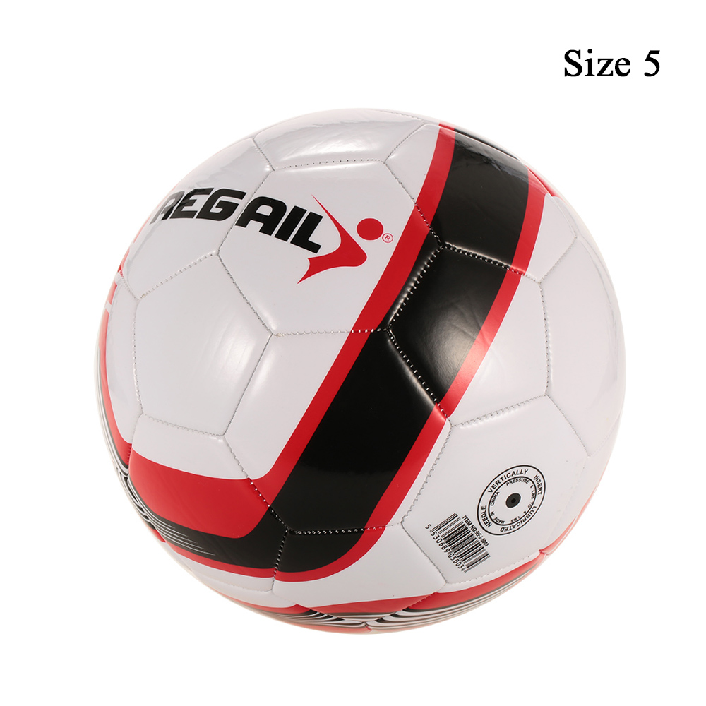 New Professional Football Ball Size 5 Soccer PU Machine-stitched Outdoor/Indoor Training