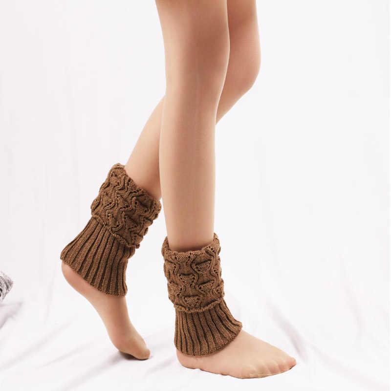 1 Pair Vrouwen Haak Boot Manchetten Knit Toppers Boot Sokken Winter Beenwarmers Calcetines Mujer