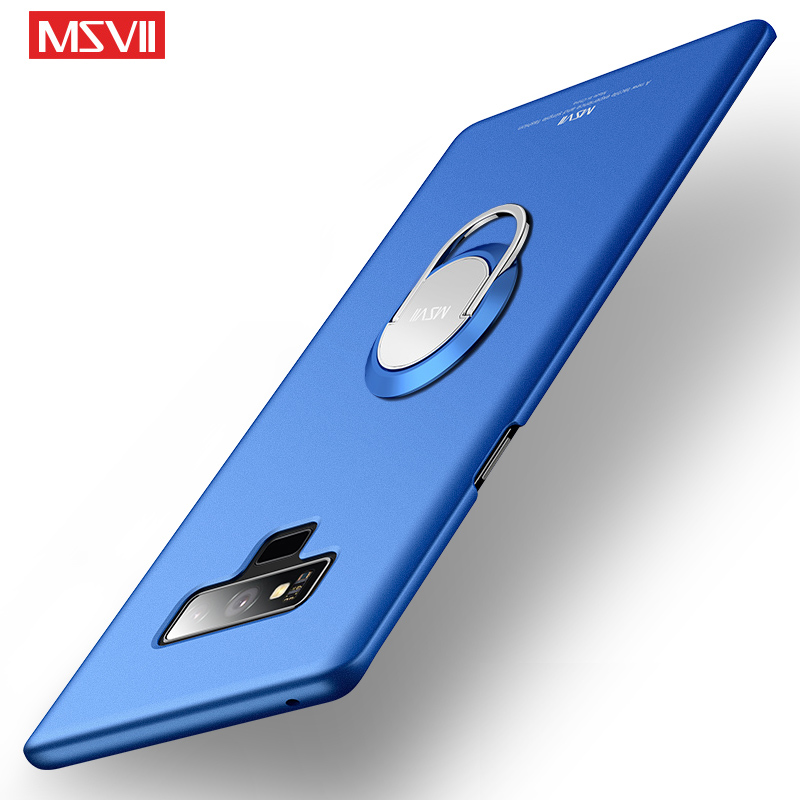 For font b Samsung b font Galaxy Note 9 Case Cover Msvii Finger Ring Slim Coque