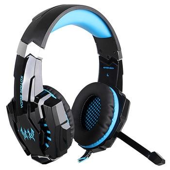 KOTION EACH G9000 3.5mm Stereo Gaming Headphones Black & Blue