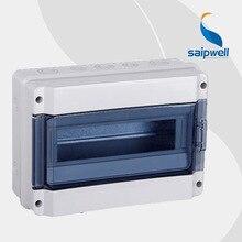 12Ways IP65  Waterproof Distribution Box / Industrial Waterproof Enclosure  SHK-12  270*195*105mm