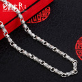 Beier new store 100% 925 silver sterling necklaces pendants classic cross fine jewelry chains necklace for women/men  BR925XL032