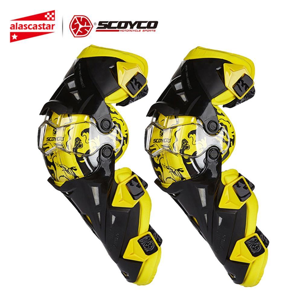 Scoyco мотоцикл наколенник для мужчин Защитное снаряжение колено Gurad наколенник Rodiller Экипировка для мужчин t gear Мотокросс Joelheira Racing Moto