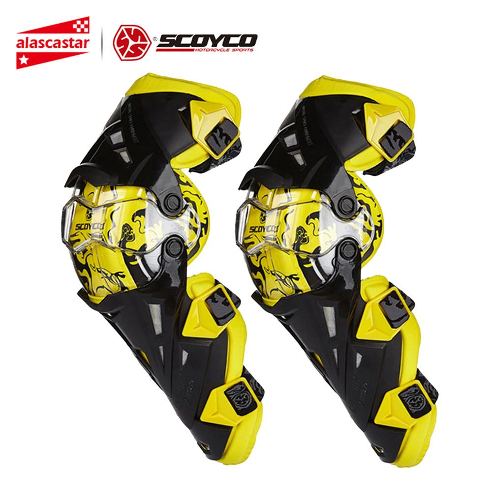 Scoyco Motorrad Knie Pad Männer Schutz Getriebe Knie Gurad Knie Protector Rodiller Ausrüstung Getriebe Motocross Joelheira Racing Moto