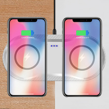 FDGAO 2 in 1 Qi Wireless Charger For iPhone X XR XS MAX 8 Plus Samsung Galaxy S10 S9 S8 Note 8 9 Dual Mobile Phone Charging Pad цены онлайн