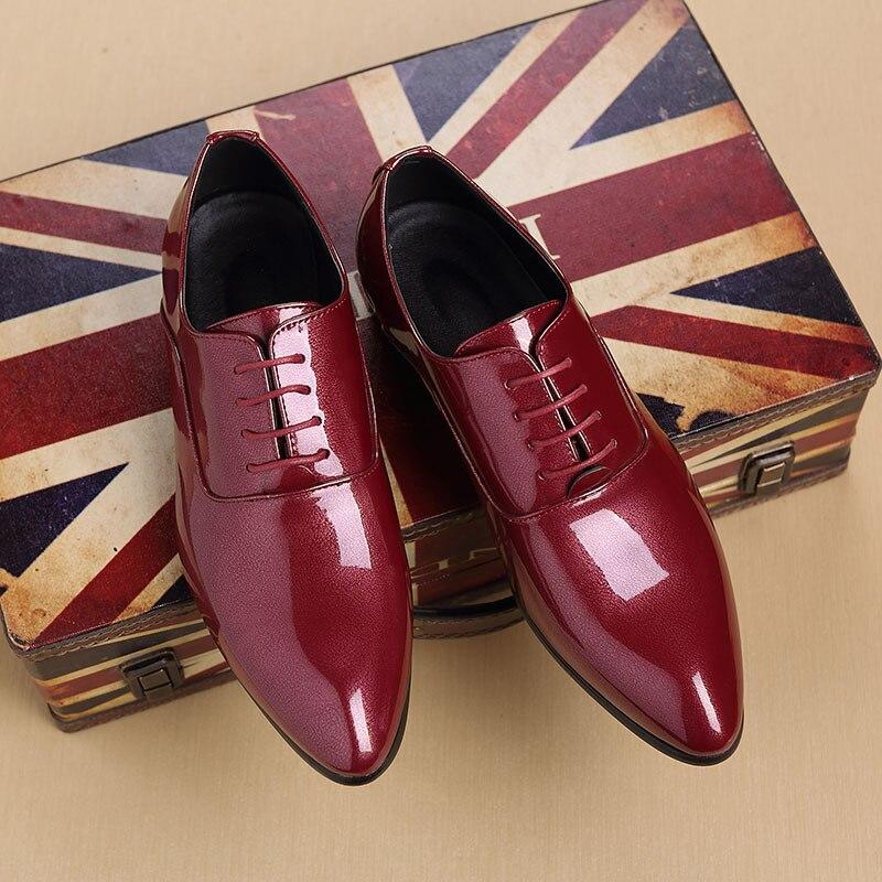Élégante Msw8108022 Sociaux Designer Black En red Chaussures Robe D'été 38 Mens Homme Cuir 48 YqP8p8