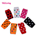 Polka Dot  Leg Warmers Printed Toddler Leggings Cotton Knee Protector Autumn and Winter Girl Tights for Children Party WB133