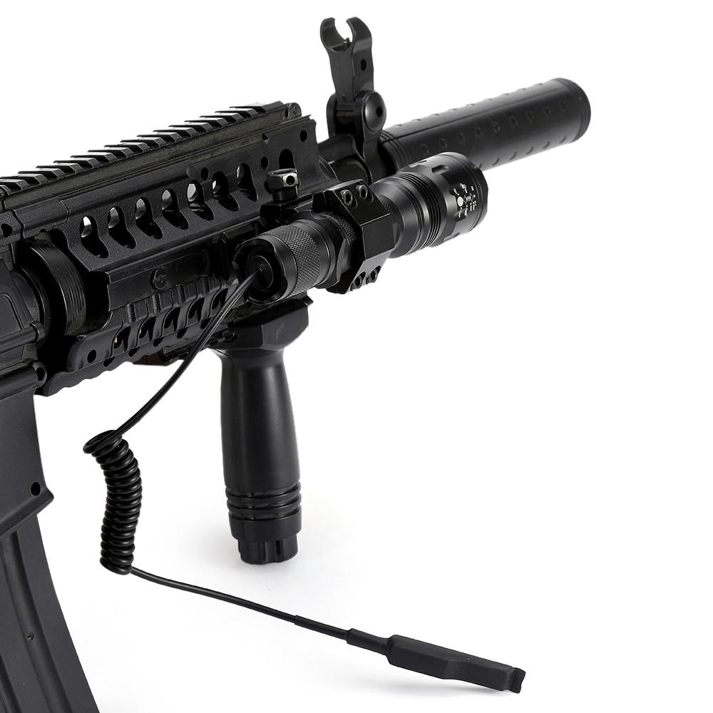 Image 5 - AloneFire TK104 CREE L2 светодиодный тактический Zoom пистолет вспышка светильник пистолет страйкбол фонарь светильник лампа для наружной охоты-in Фонарики и осветительные приборы from Лампы и освещение