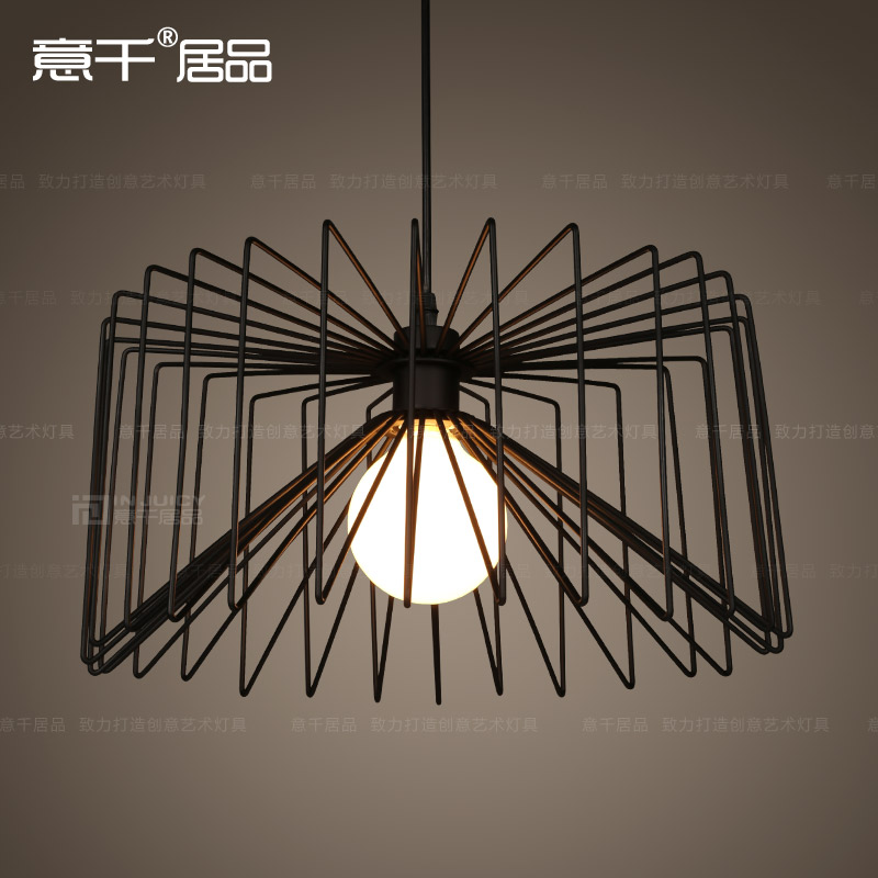 American Industrial Vintage Edison Grid Loft Droplight Cafe Bar Club E27 Ceiling Light Cafe Bar Hall Club Store Restaurant 32cm vintage iron pendant light metal edison 3 light lighting fixture droplight cafe bar coffee shop hall store club