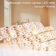 цены WENNI PIR LED Wall Lamp Wireless Motion Sensor LED Light Strip Waterproof LED Night Light Cabinet Lamp Corridor Stairs Lighting