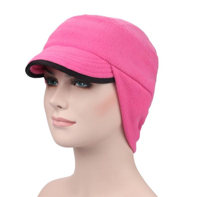 Multi-function Windproof Warm Men   Women Running Hat Ear Protection Fleece  Cycling Skiing Cap 530ed02155a
