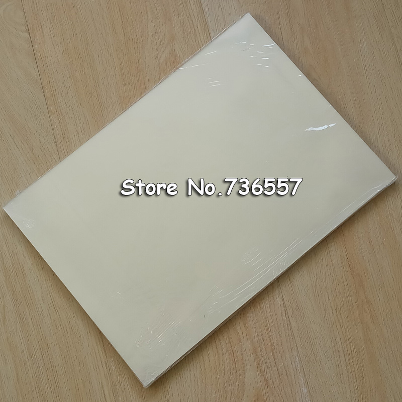 50pcs A4 Laser Printing Transparency Film for Screen Plate Making/to Make Stencil,PCB Circuit Board,Garments Etc