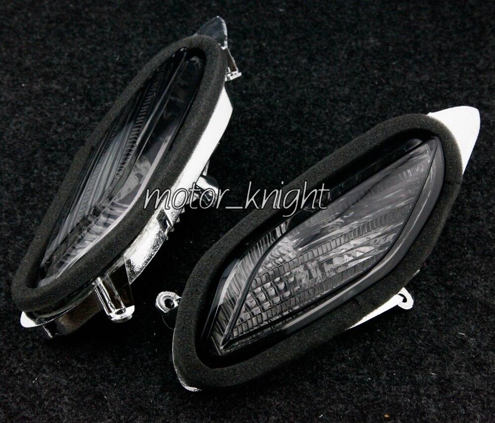 Prix pour Mettez avant signaux indicateur clignotant objectif pour Honda ST1300 2002 - 2009 fumée moto lumière lentilles