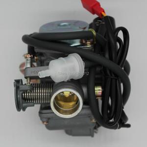 Image 2 - 좋은 품질 새로운 gy6 125 150cc 오토바이 기화기 카바 바하 스쿠터 atv 이동 카트 스쿠터 125cc pd24j 오토바이 부품