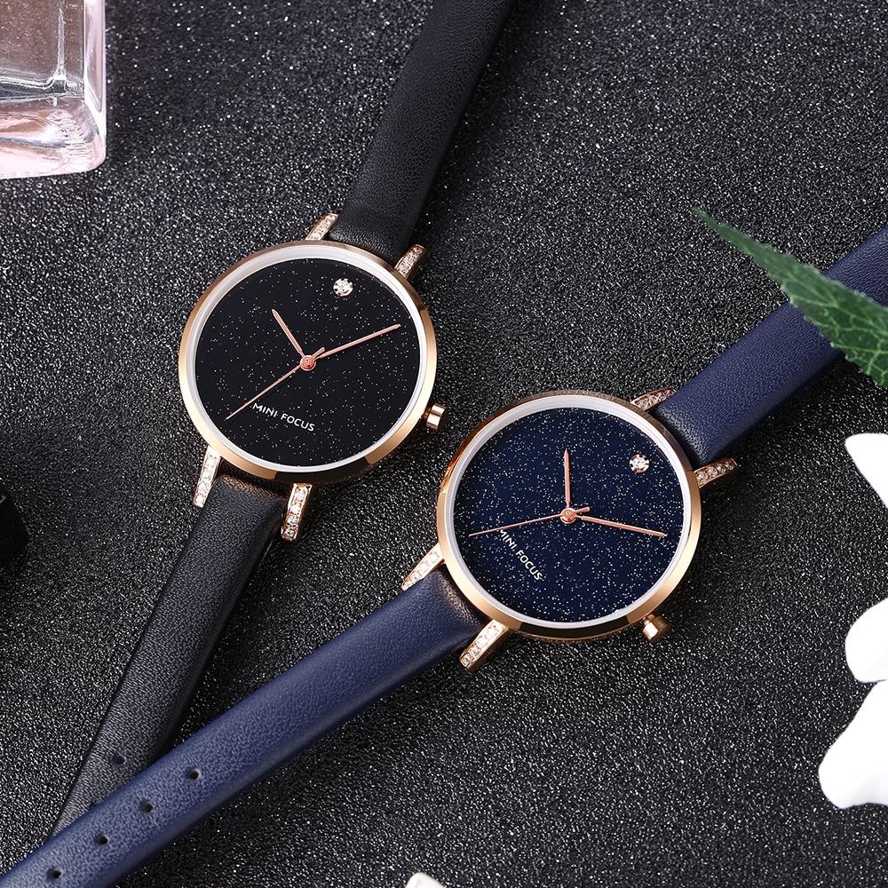 MINI FOCUS Mode Quartz Horloge Vrouwen Horloges Dames Meisjes - Dameshorloges - Foto 3