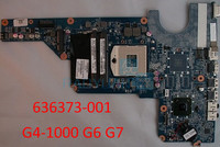 For HP Pavilion G4 1000 G6 G7 Laptop motherboard 636373 001 HM65 DA0R13MB6E0 DA0R13MB6E1 100% Tested Without Battery