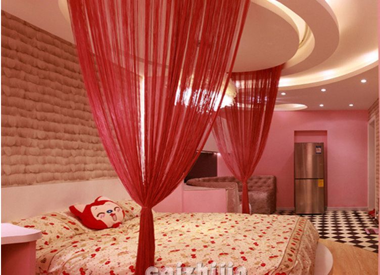 Red Curtains beige red curtains : Popular Beige Red Curtains-Buy Cheap Beige Red Curtains lots from ...
