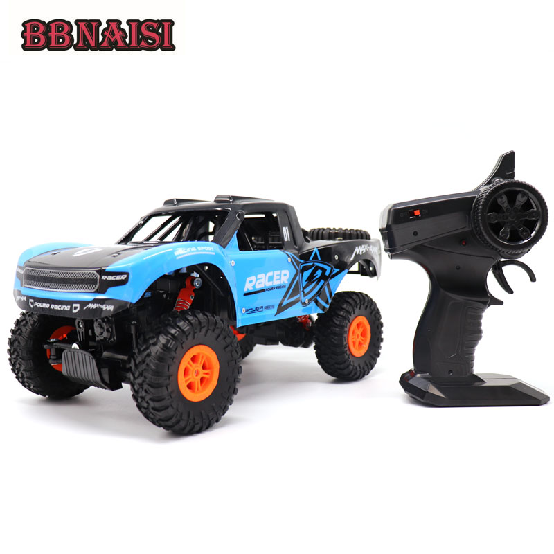 New 1 14 4channels Rc Toy Car Rock Crawler Radio Remote
