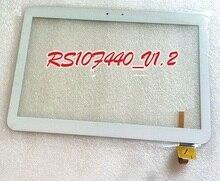 Envío gratis 10.1 pulgadas Wexler tab 10q panel táctil digitalizador pantalla táctil reemplazo de lentes de vidrio