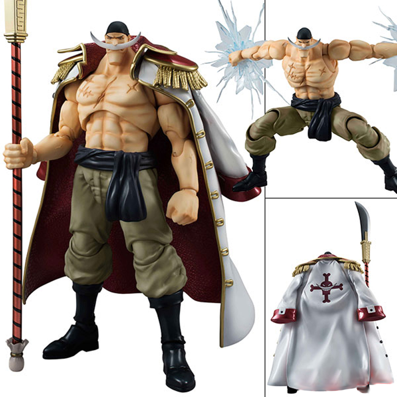 Anime One Piece White beard Edward Newgate Figma 25cm Pvc Action Figure Toy Classic Model Toys Collectible classic anime 25cm one piece pop blackbeard edward teach anime collectible action figures pvc collection toys christmas gift