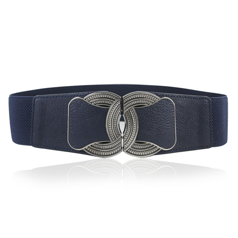 Direct Selling Brand Belts For Women European And American Style Female Dress Belts 6cm Wide Elastic Corset Belts 2019