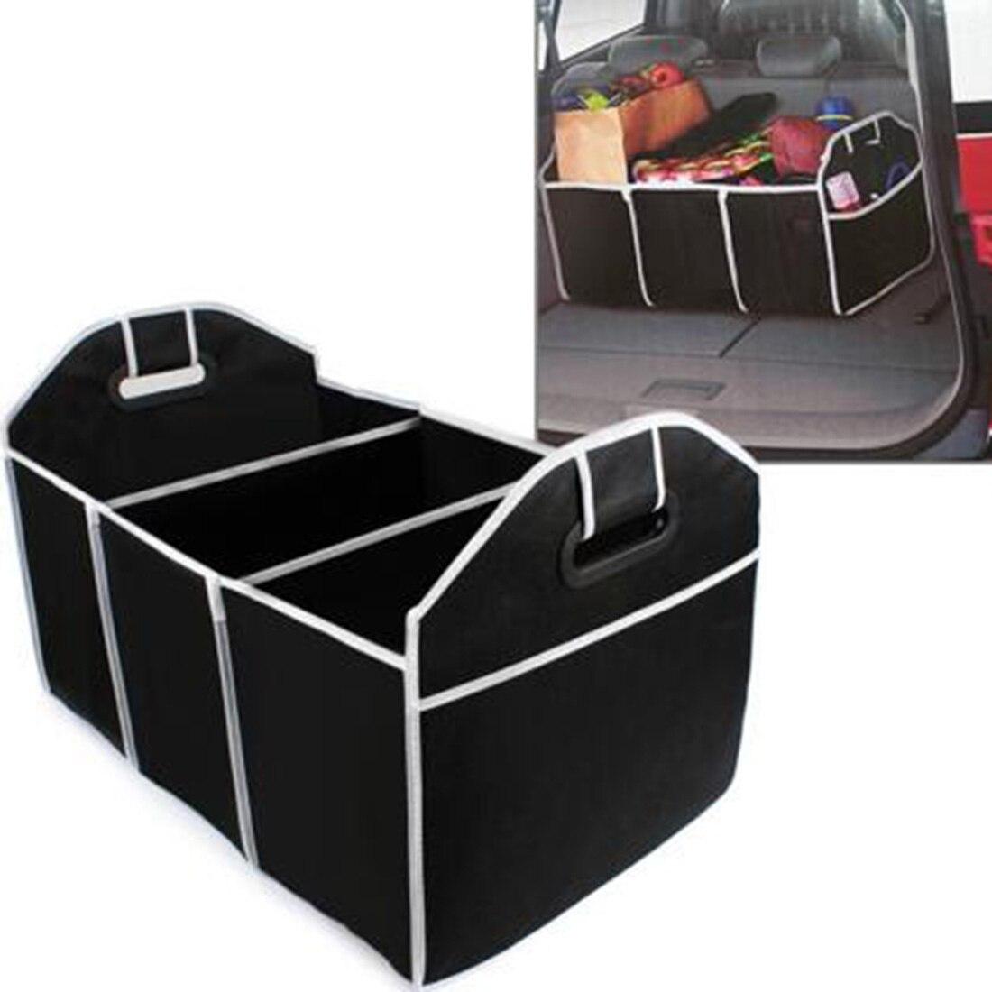Goedkope Verkoop Nieuwe Mode Non-woven Speelgoed Voedsel Opslag Container Zakken Doos Styling Auto Interieur Accessoires Levert Gear