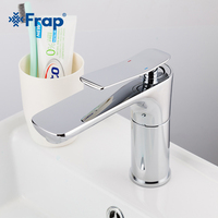 FRAP Modern Faucet Bathroom Crane Faucet Single handle Hot & Cold Water Bathroom Quality Brass Sink Water Saving Faucet Y10033