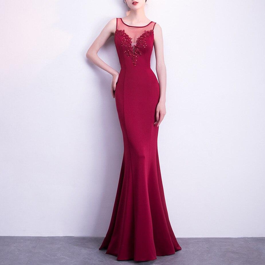 JIROFA Vestidos mujer 2018 Summer Dress Elegant Maxi Dress Flowers Blackless Evening Mermaid Sleeveless vestidos de