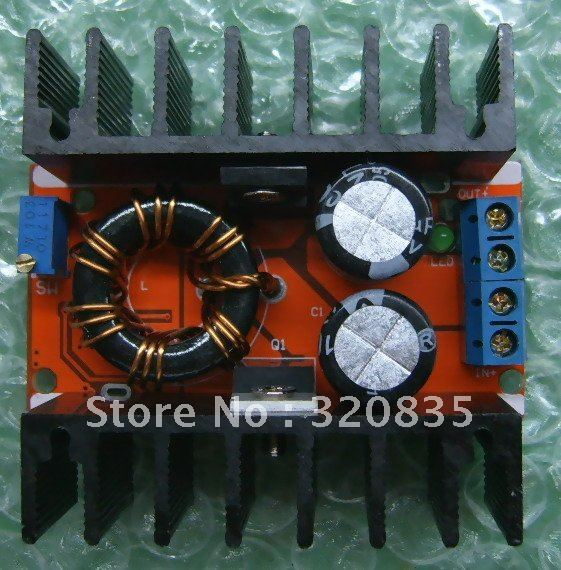 Freeshipping 150W DC-DC Mobile Power Supply Boost /step-up Module Adjustable For laptop