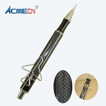 ACMECN Brand 0.7mm Mechanical Pencil Unique Design Plane style Carbon Fiber Propelling Stationery for Promotion