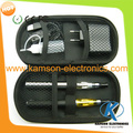 Hot selling ego CE4 double pcs 900MHA electronic cigarette zipper bag kits ego ce4 electronic cigarette