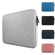 Nylon bolsa do portátil 13.3 14 15.6, estojo para macbook air pro 13 15 laptop manga 11 12 13 15 polegada bolsa para notebook xiaomi hp dell
