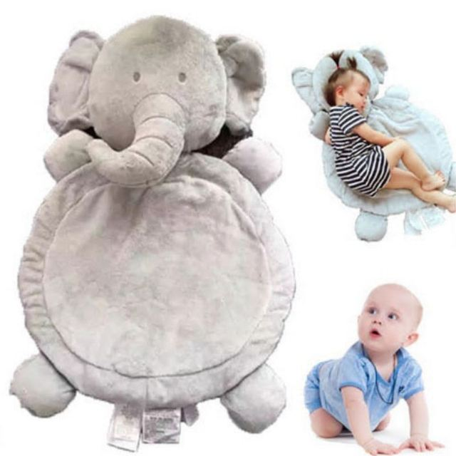 2017 New Elephant Fox doll toy Baby Kids Pad Plush Mattress Pillow cushion Beds Mat