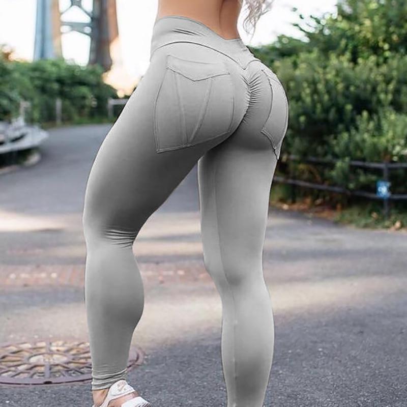 31aa544d76 High Waist Leggings Push Up Fitness Legging Elastic Plus Size Sexy  Bodybuilding Pants Workout Adventure Time