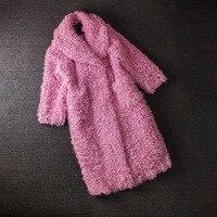 real fur parka colored fur coats 100%natural furreal fur coat real manteau fourrure femme sheep fur coats women