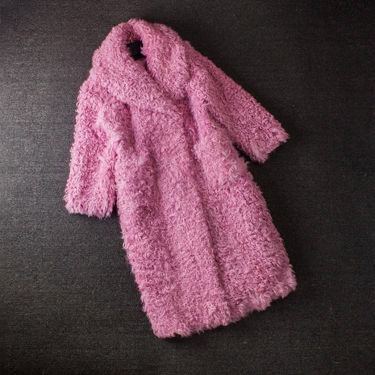 Vera pelliccia parka di colore cappotti di pelliccia 100% furreal naturale cappotto di pelliccia reale manteau fourrure femme di pecora cappotti di pelliccia delle donne