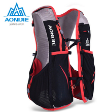 AONIJIE Women Men Outdoor Sport Running Backpack 5L Ultralight Marathon Hydration Vest Backpack Cycling Hiking Bag