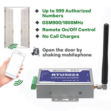 For 2G GSM Door Gate opener relay call switch Remote control phone Vibration control door opener for parking Systems RTU5024 rtu5024w 3g gate opener remote controller relay sms call swing gate garage door opener switch by free phone call