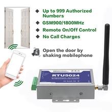 купить For 2G GSM Door Gate opener relay call switch Remote control phone Vibration control door opener for parking Systems RTU5024 дешево