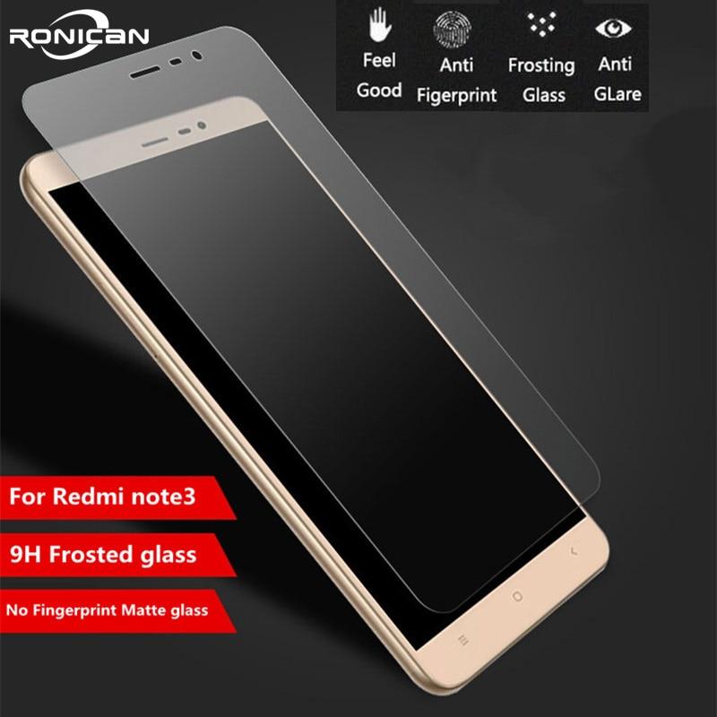 Tempered-Glass Screen-Protector Note3 No-Fingerprint Xiaomi Redmi Matte 9H for Note-3/Pro/Note3