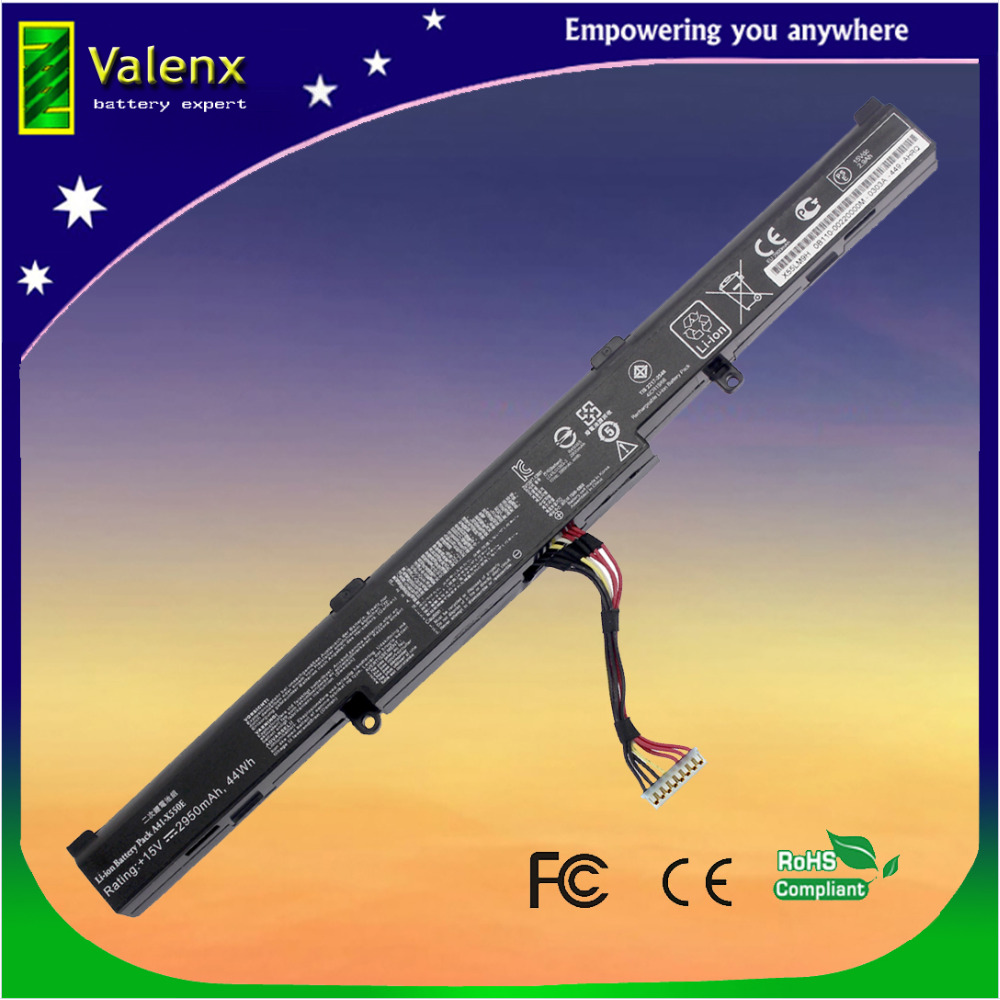 laptop battery A41 X550E for Asus X751M X751MA X751L K751L X750JA