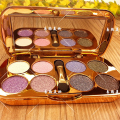Brand New Silky Luxury Waterproof Eyeshadow Palette Makeup Diamond Glitter Eye Shadow Naked Palette With Brush & Mirror
