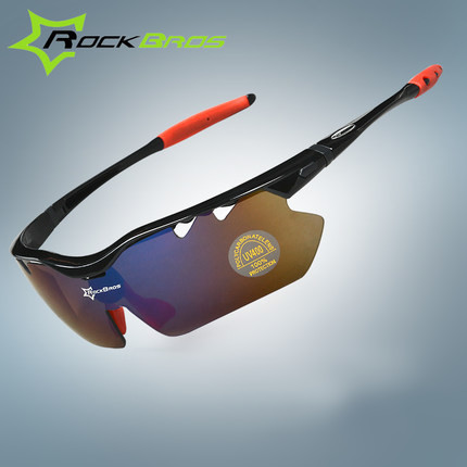 RockBros Polarized Cycling Sun Glasses Outdoor Sports Bicycle Glasses Bike Sunglasses TR90 Goggles Eyewear 5Lens,Upgrade section tr90 sunglasses polarized lens vintage eyewear accessories sun glasses for men women